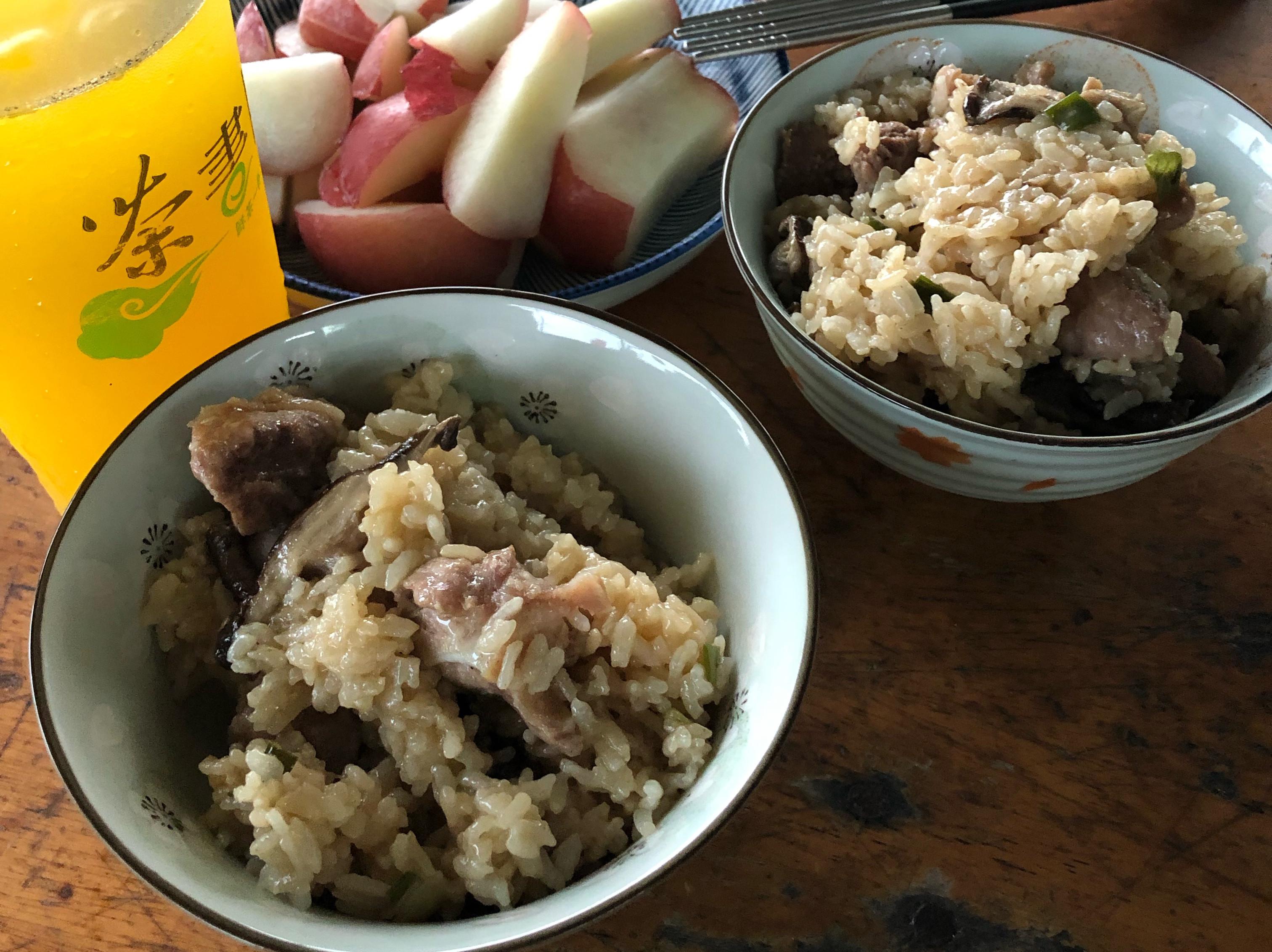 香菇軟骨飯(電鍋)