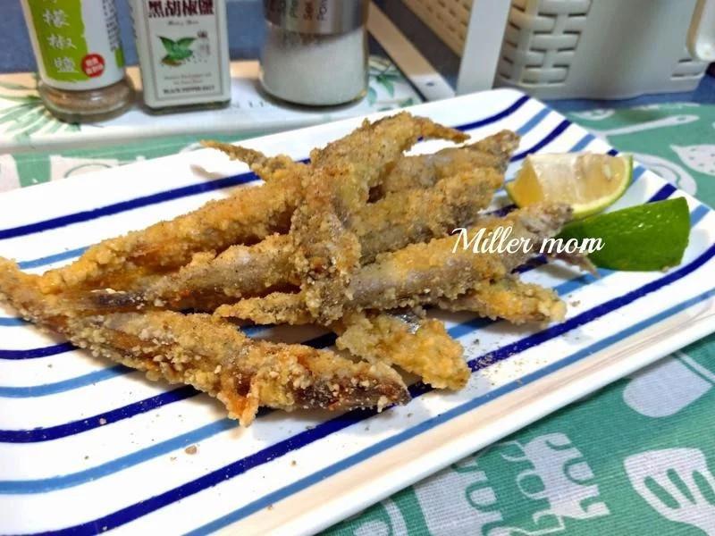 鹹酥炸柳葉魚