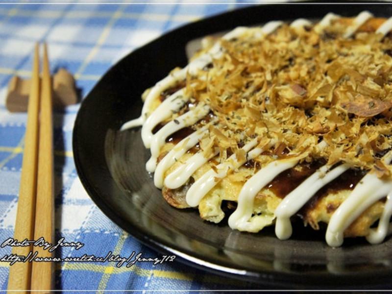 豚肉鮮菇大阪燒