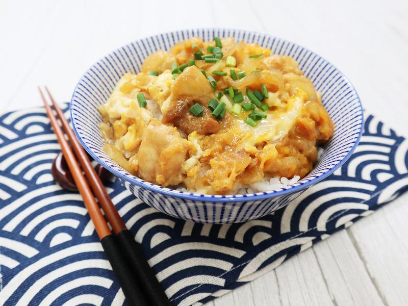 親子丼:嫩滑半熟蛋