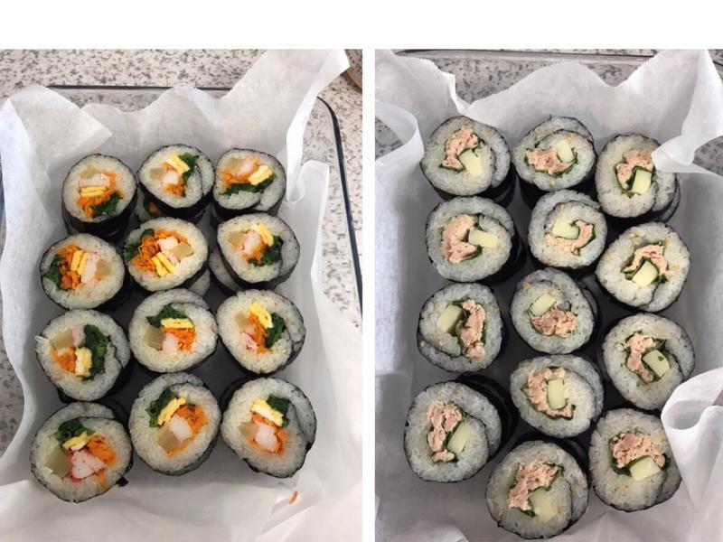 Tuna & Crab Kimbap