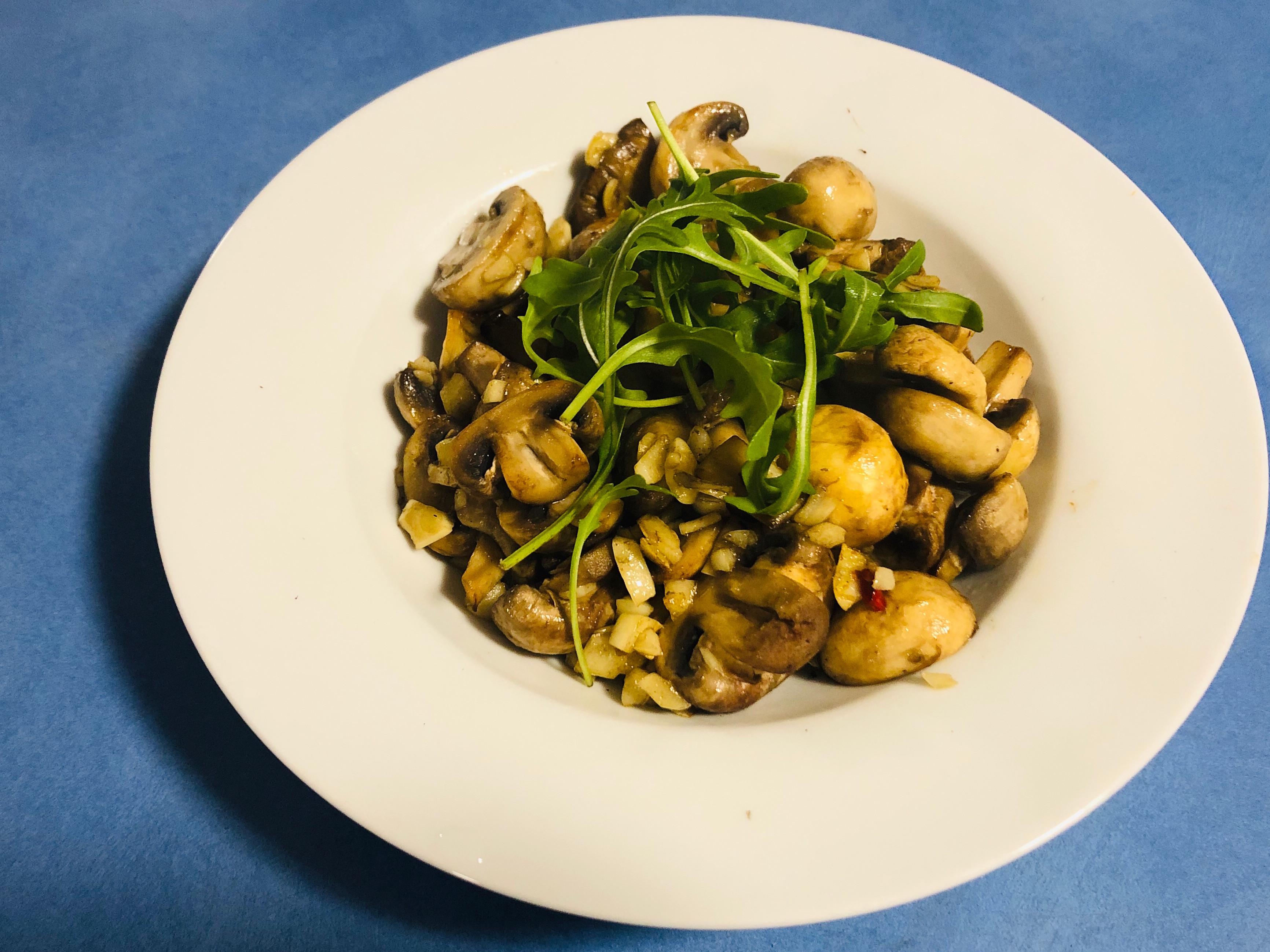[澳洲]蒜炒蘑菇