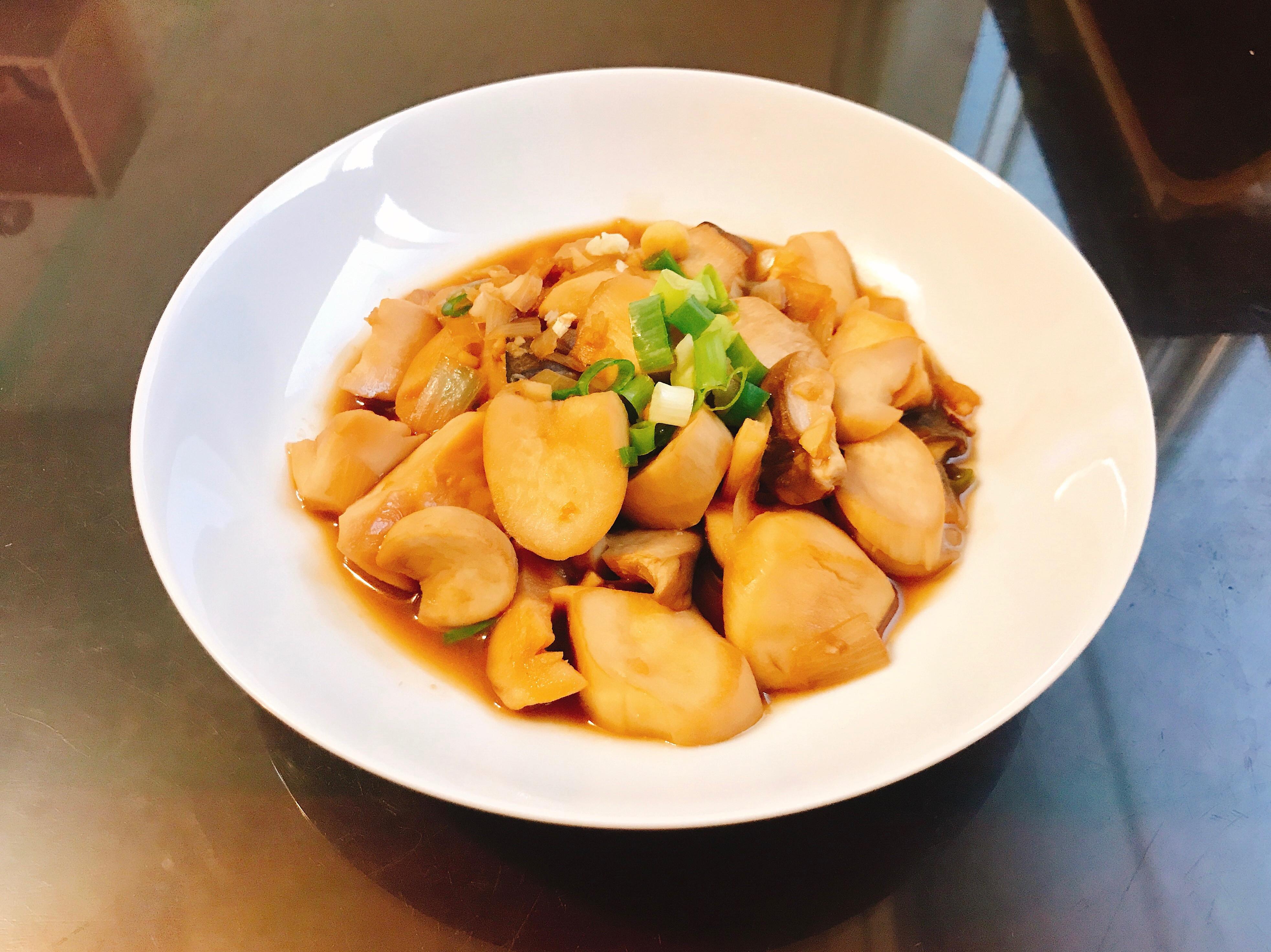 味噌醬燒杏鮑菇(減脂料理)