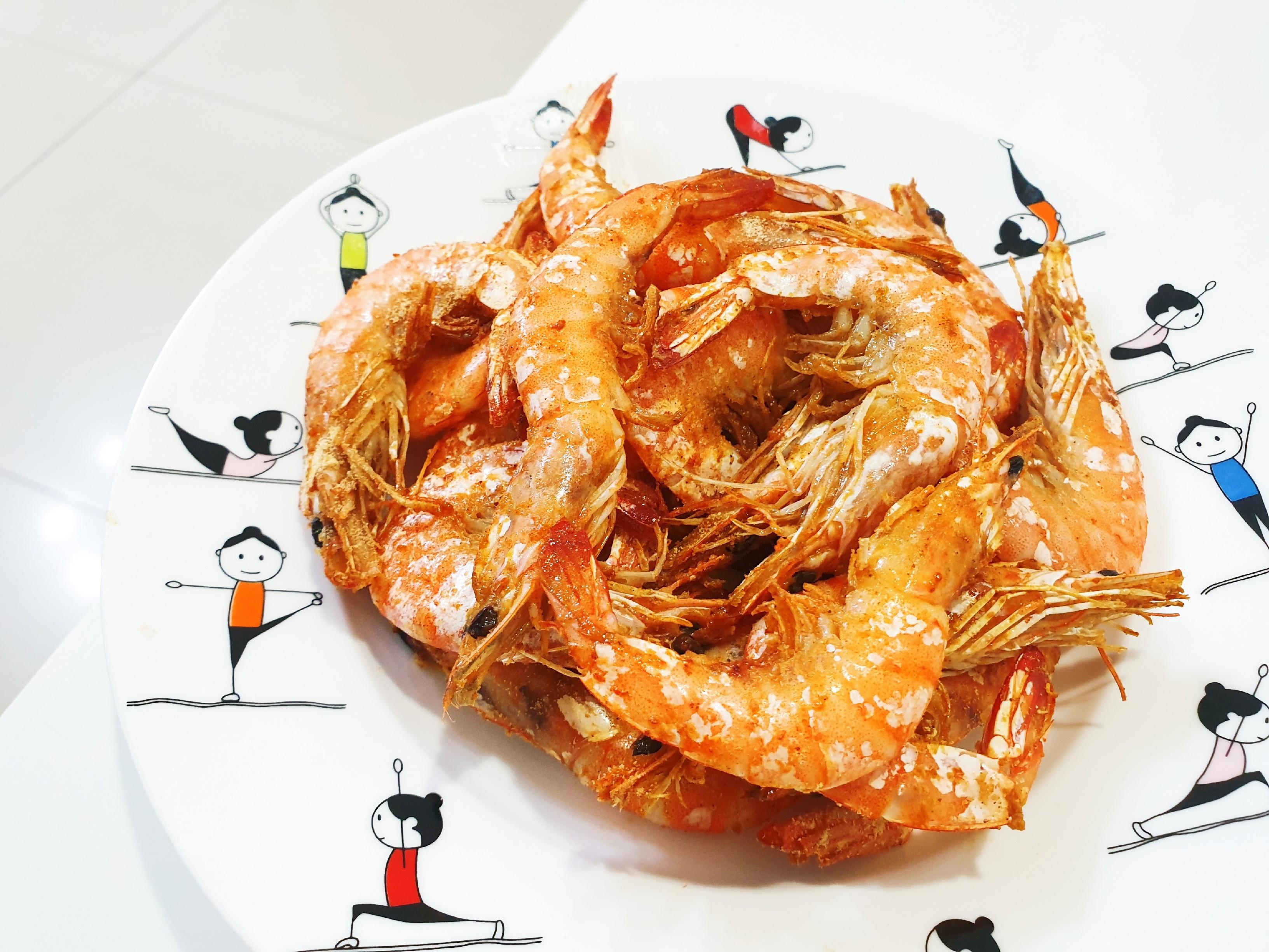 【氣炸鍋】胡椒蝦