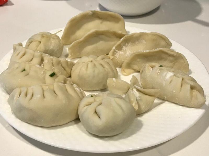 韭菜冬粉水餃🥟