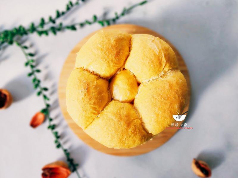 蜂蜜紅蘿蔔手撕麵包