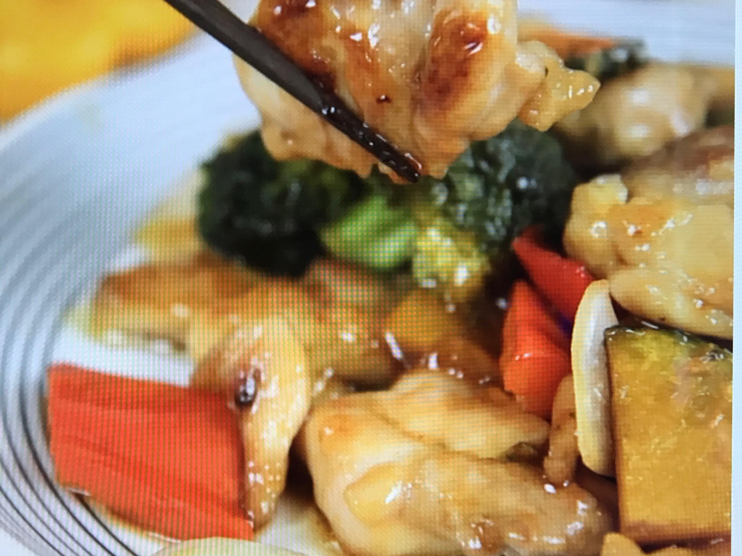 黑醋野菜炒雞肉