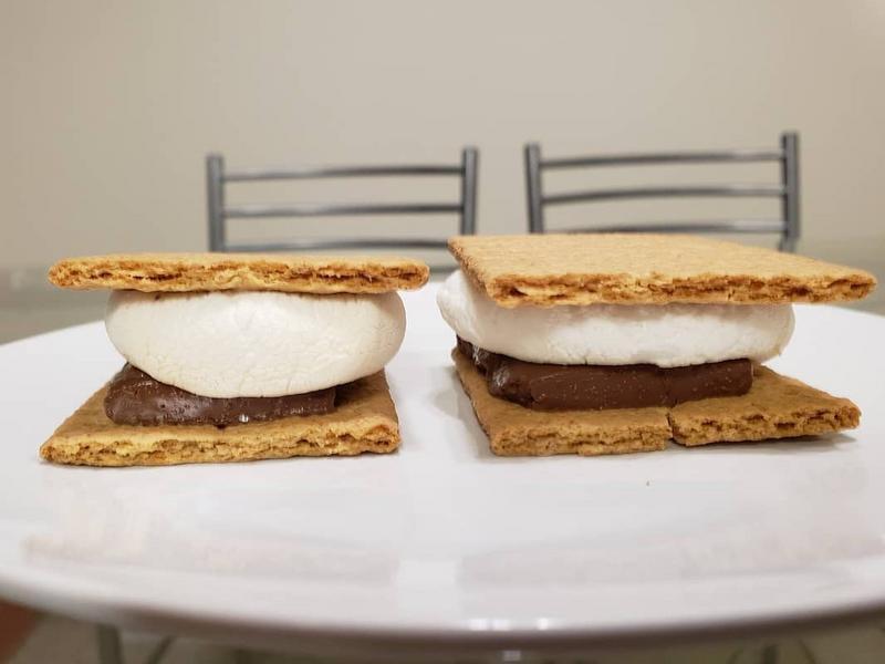 巧克力棉花糖夾心餅乾 (烤箱版,免營火)