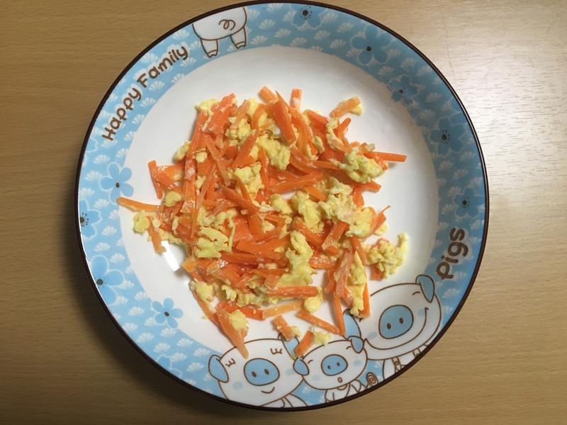 「紅蘿蔔炒蛋🥕🍳」(電磁爐版)
