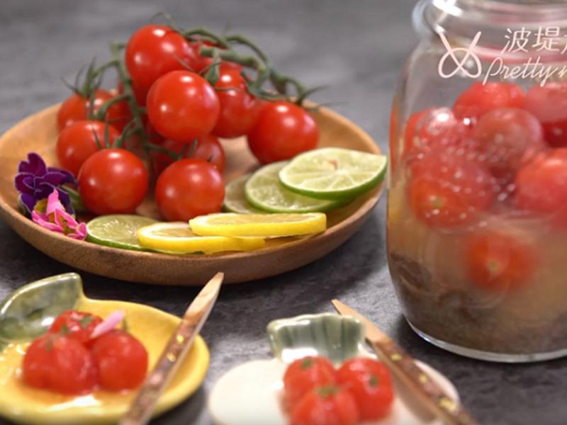 冰釀梅子番茄