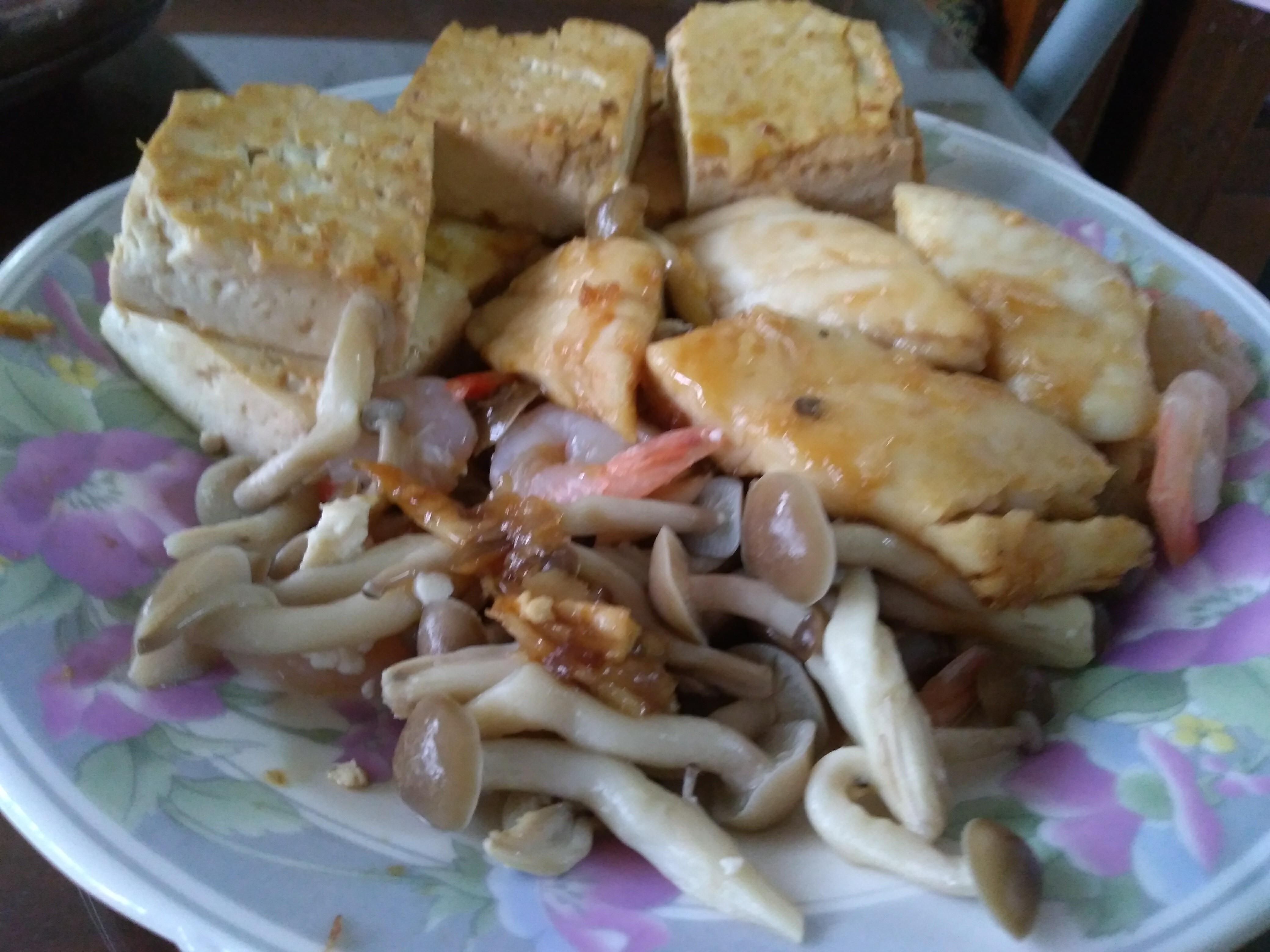 蒲燒鴻喜菇鯛魚【好菇道營養料理】