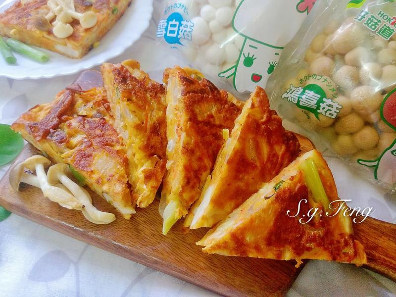 韓式泡菜菇菇煎餅【好菇道營養料理】