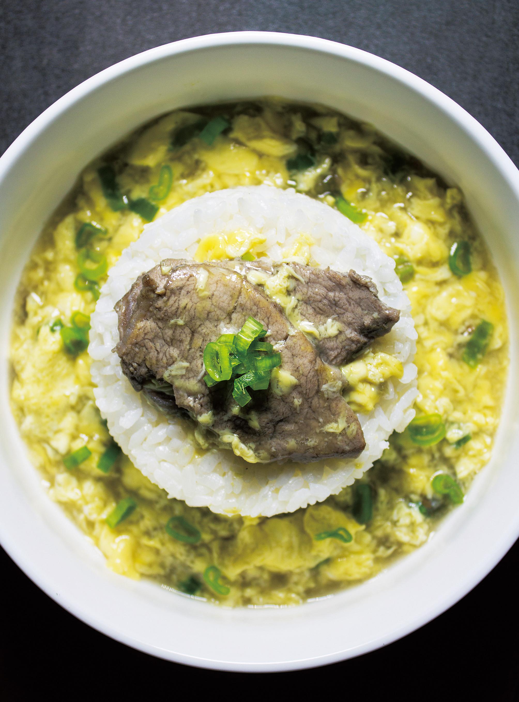 滑蛋豬肉燴飯