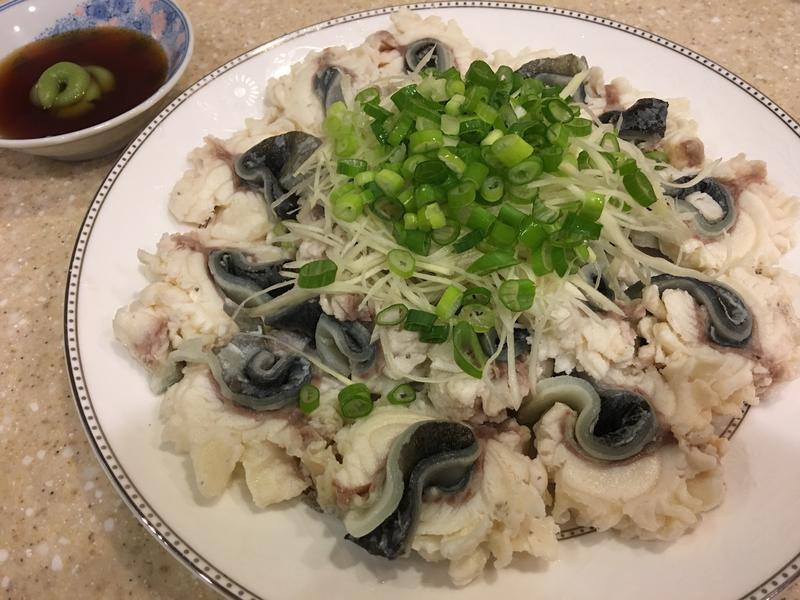 野生鱸鰻三吃(二)~川燙