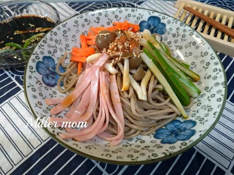 和風菇菇蕎麥涼麵【好菇道營養料理】