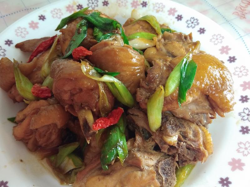 醬燒雞肉(方便快速的懶人料理)