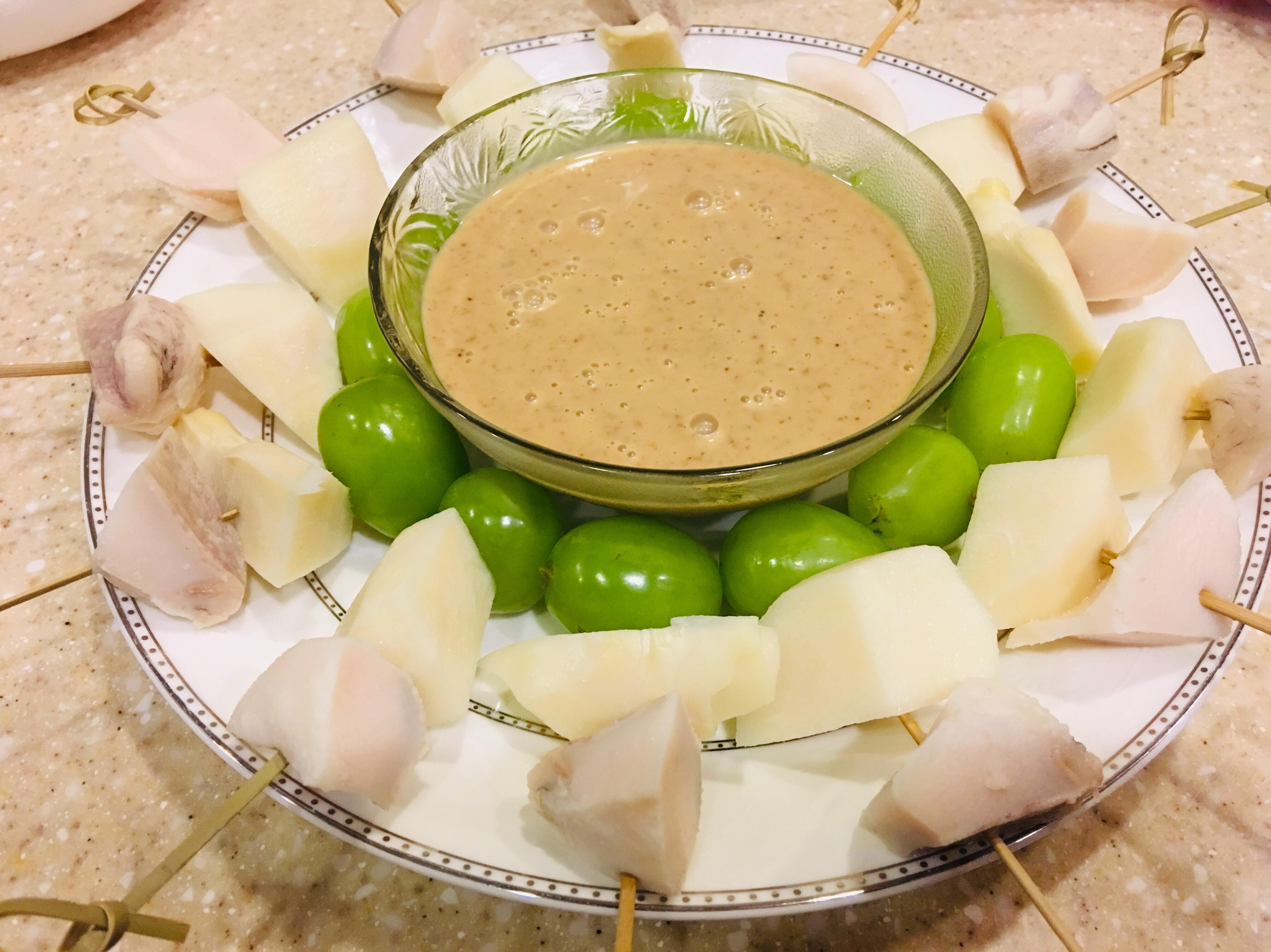 鮑魚綠竹筍沙拉~派對點心