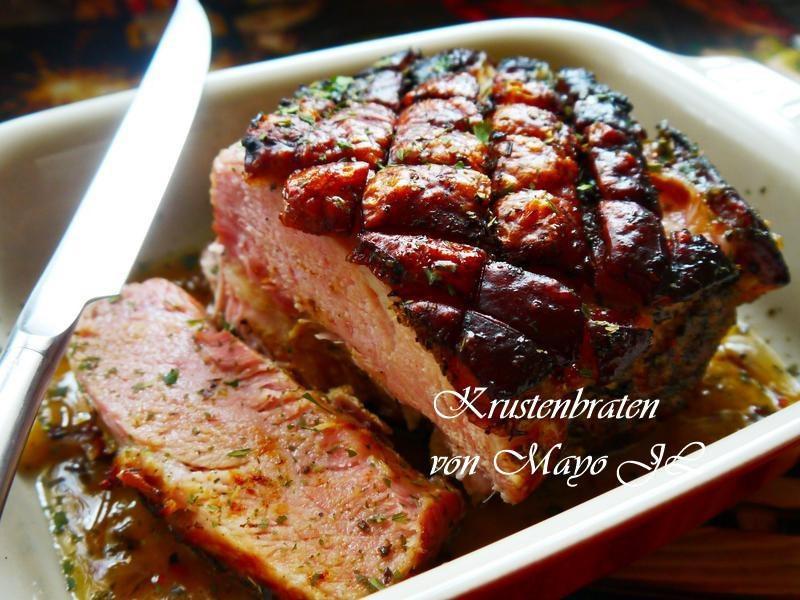 脆皮烤豬肉