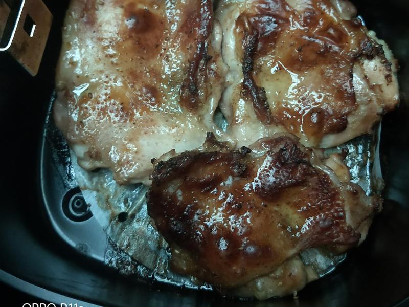 氣炸烤雞腿