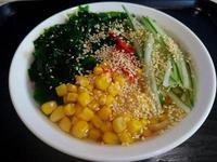 韓式綠藻冷麵