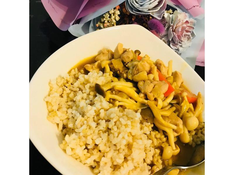 咖哩菇菇雞 【好菇道營養料理】