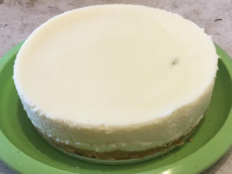 檸檬奶凍蛋糕(免烤箱)