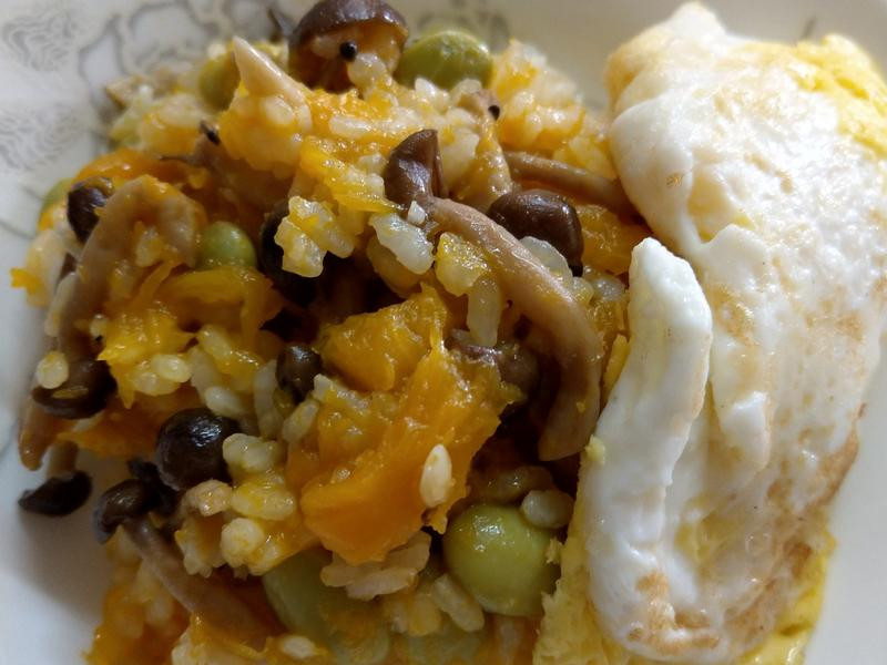 南瓜菇菇燉飯--好菇道營養料理