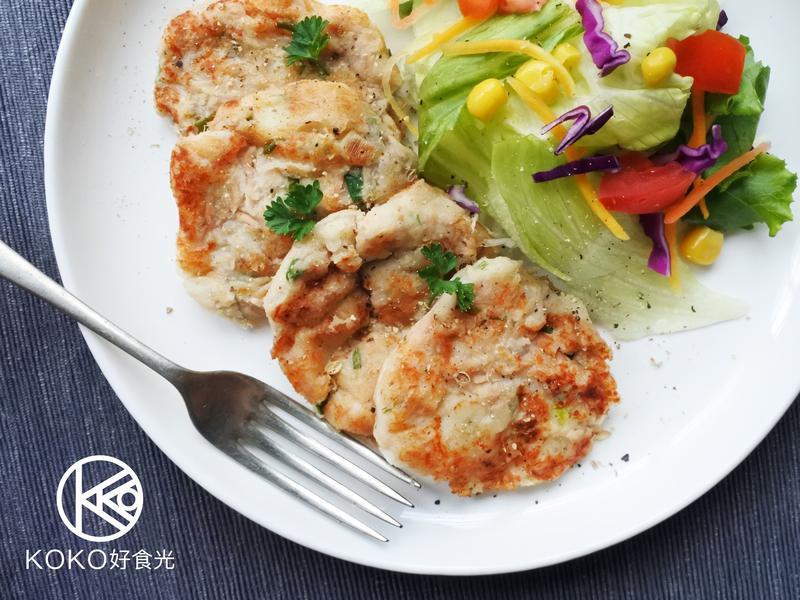 鮪魚馬鈴薯泥煎餅早餐