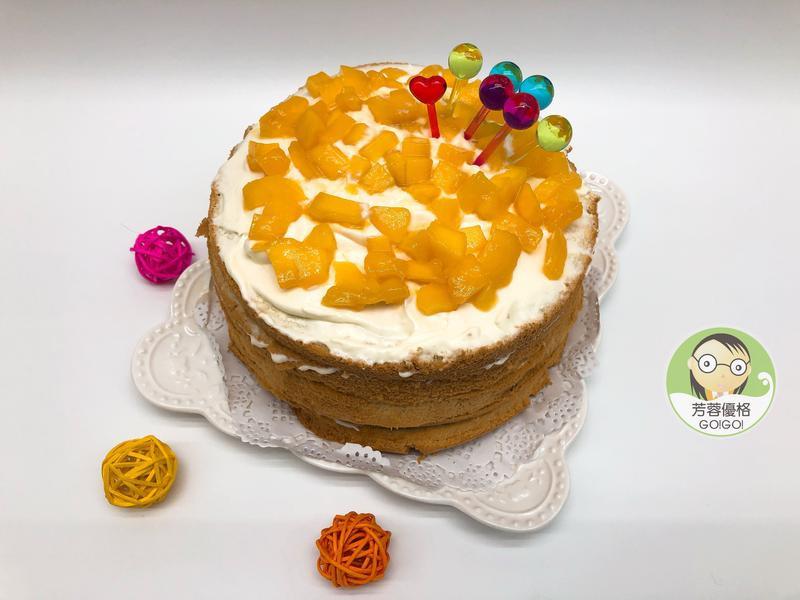 玉文芒果優格乳清蛋糕