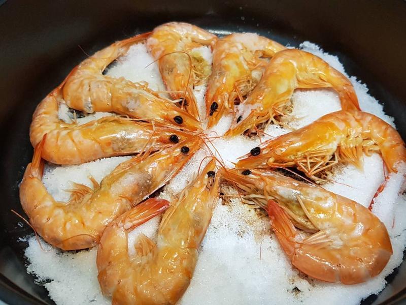 簡單快速鹽焗蝦