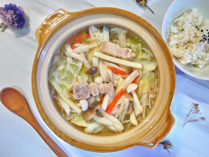飯湯(五花肉筍子湯)【好菇道營養料理】