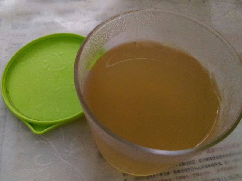 檸檬綠茶果凍