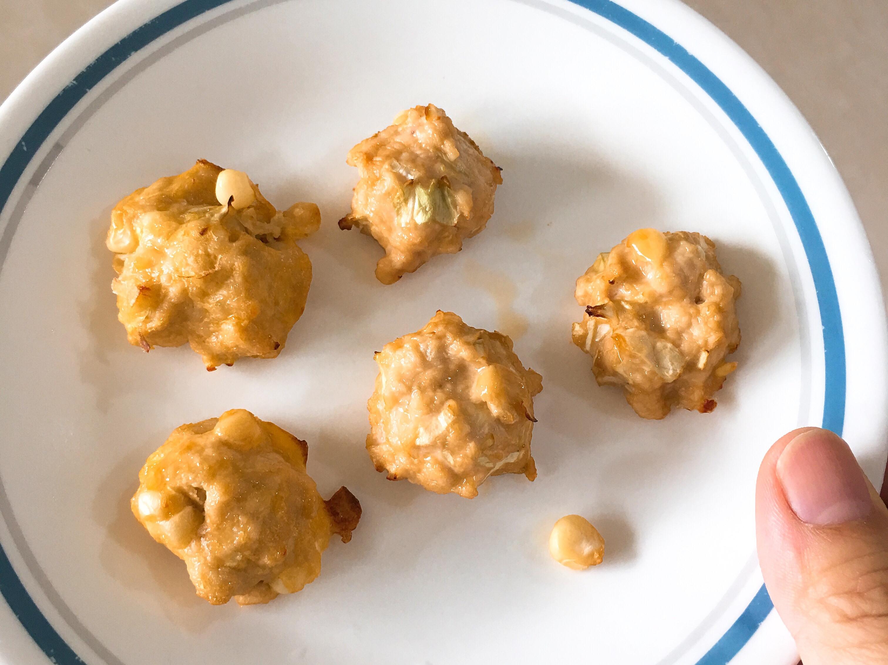 雞肉丸子(玉米高麗菜)健康少油 副食品