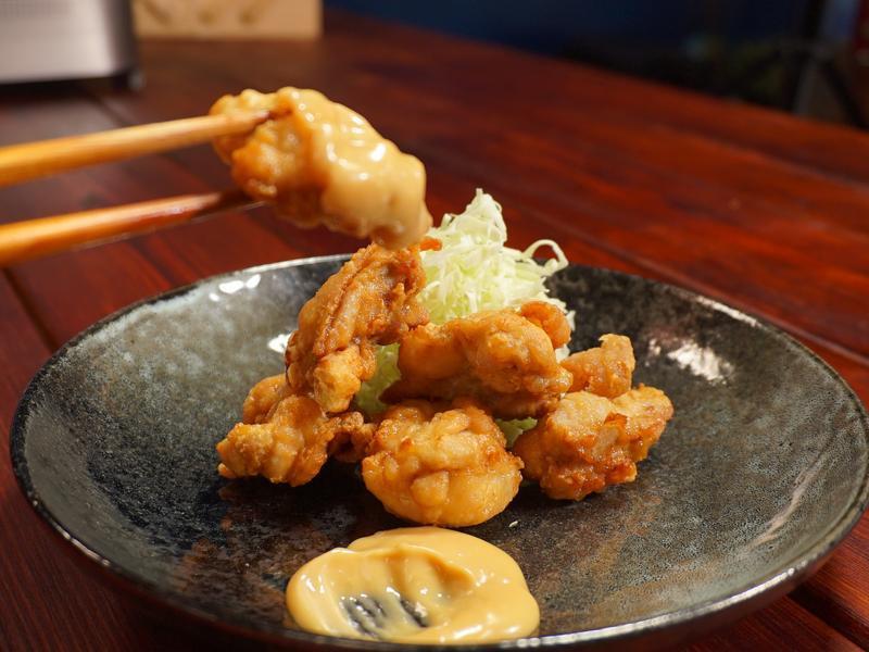豆油伯甘田醬油-日式唐揚雞