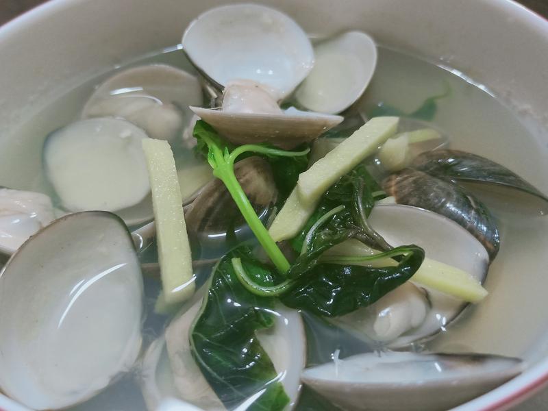 鮮甜蛤蜊湯