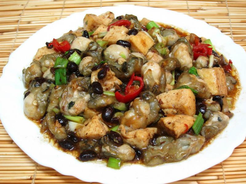 【四季江戶味之秋季料理】豆豉鮮蚵