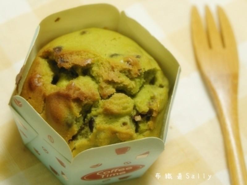 【健康廚房黃金玄米油】抺茶紅豆馬芬