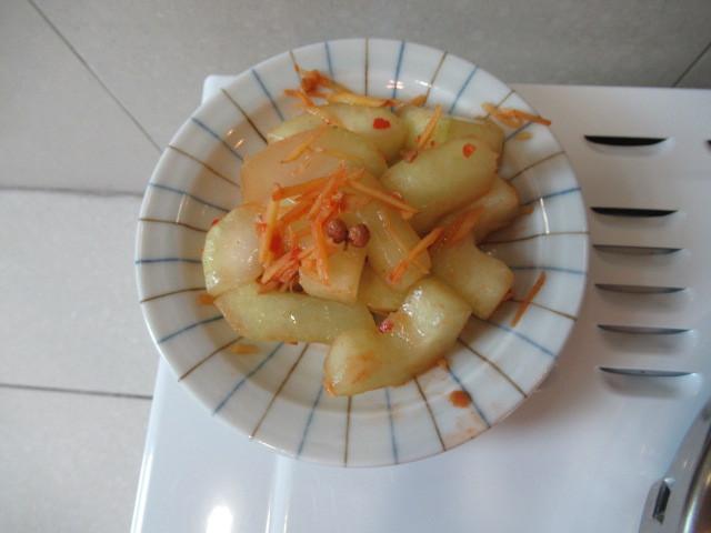 豆瓣醬大黃瓜