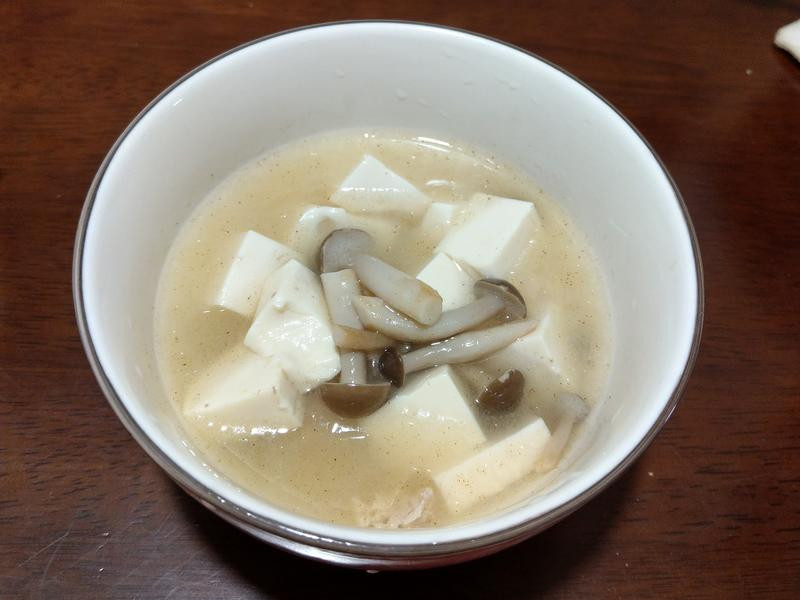 麻油菇菇味噌湯【好菇道營養料理】