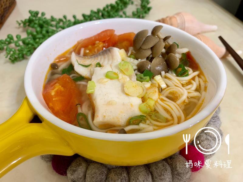 蕃茄菇菇魚麵【好菇道營養料理】