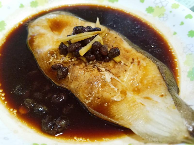 清蒸豆豉鱈魚(電鍋料理)