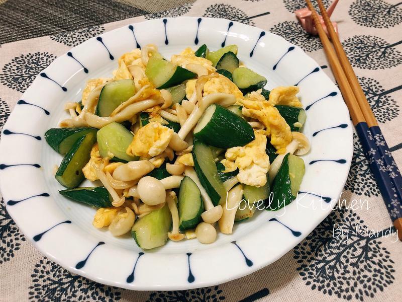 小黃瓜炒蛋【好菇道營養料理】