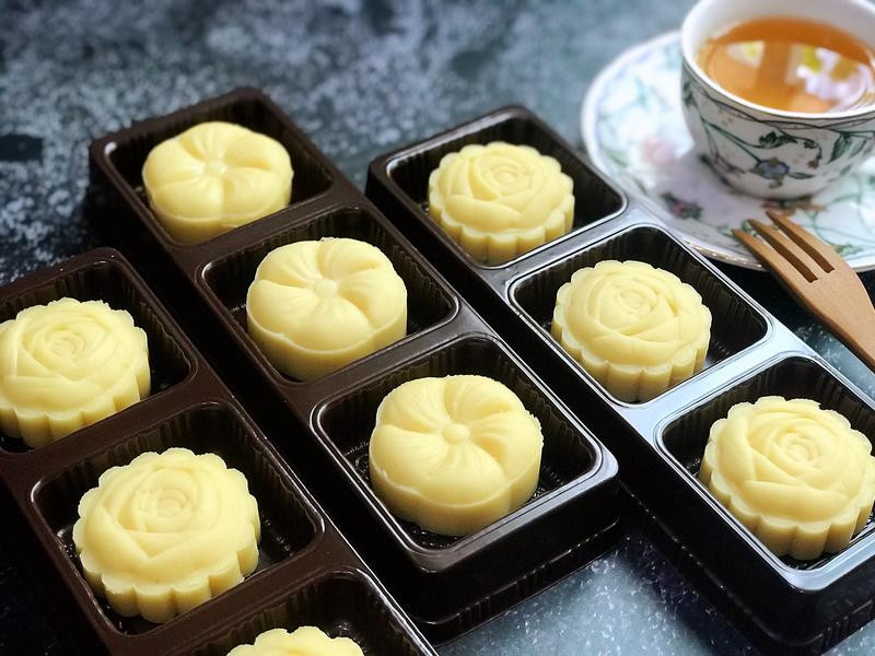 清爽綠豆糕(植物油版本)