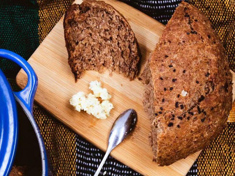 三步驟料理》核桃麥片麵包
