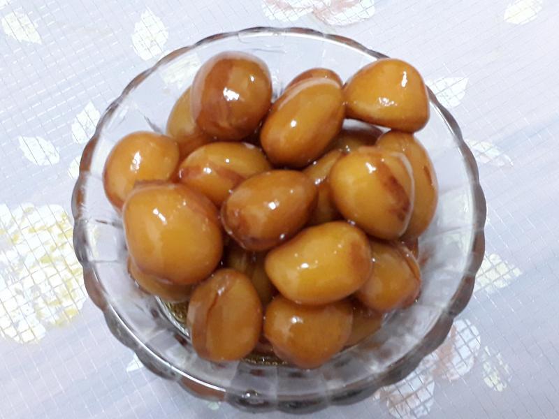糖蜜蘋婆(鳳眼果)-中華二店氣炸鍋