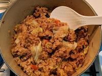 鑄鐵鍋高麗菜飯-成功
