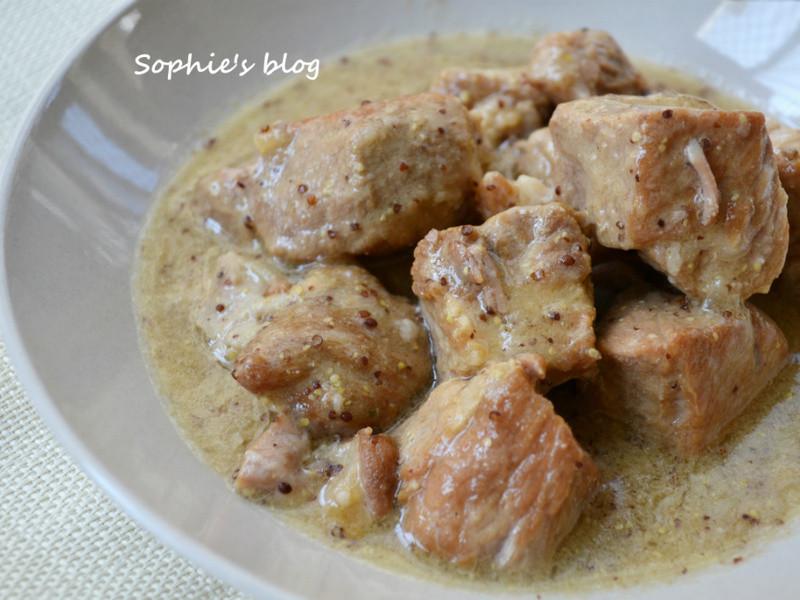 顆粒芥末醬燉肉