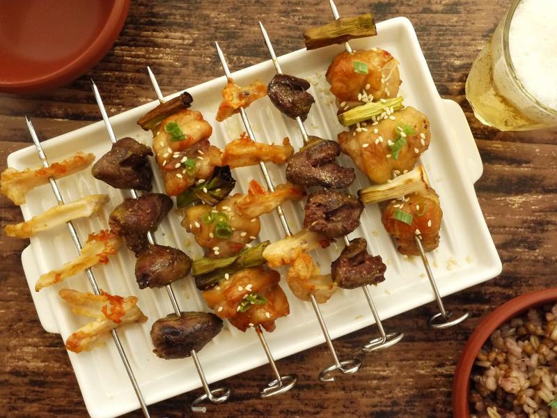 【氣炸】麻油雞串+雞油拌飯