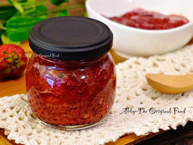 草莓果醬(減糖版本)