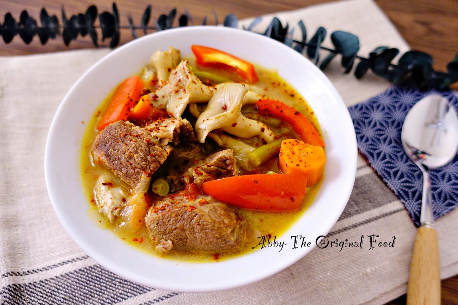 泰式綠咖哩牛肉